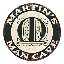 PPFG0153 WARNING JIM/'S GARAGE Tin Chic Sign Home man cave Decor Funny Gift