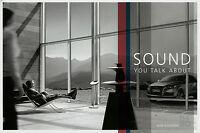 1523AU Audi Bang & Olufsen Prospekt 2007 8/07 Auto HiFi A8 S8 Q7 brochure
