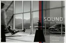 Audi Bang & Olufsen Prospekt 2007 8/07 Auto HiFi A8 S8 Q7 Autoprospekt brochure