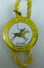 CIRENCESTER PARK POLO CLUB ENAMEL Badge with Cord 2008