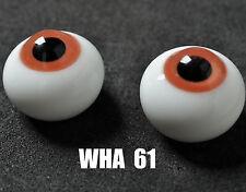 Gorgeous Colour 20MM Glass BJD Eyes(Brown)for Reborn/NewBorn LUTS BJD SuperDoll