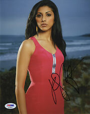 RESHMA SHETTY BEAUTIFUL ACTRESS & SINGER SIGNED POSED PHOTO PSA