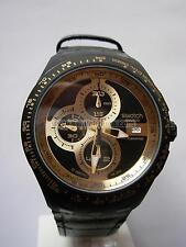 SWATCH CHRONO AUTOMATIC RIGHT TRACK SUNSHINE  - 2010 - SVGB401 - DIAPHANE - NEW