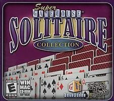 Video Game PC Super GameHouse Solitaire Collection MAC NEW SEALED