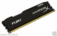16GB Kingston HyperX Fury DDR4 2400 Mhz Desktop PC Memory Ram + BILL
