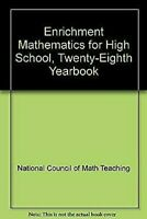 Enrichment Mathematics para Gran Escuela, 28th Yearbk