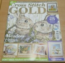 Cross Stitch Gold magazine #164 2020 Meadow cuties Rabbits Shades of Spring