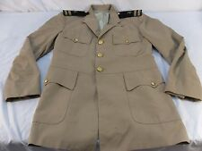Men's VINTAGE NAVY 0-3 OFFICERS KOREAN WW II WAR UNIFORM JACKET COAT 34 R