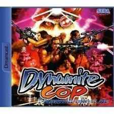 SEGA Dreamcast Spiel - Dynamite Cop mit OVP sehr guter Zustand