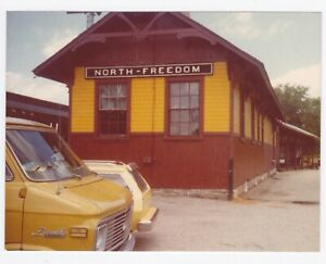 Vintage 70s PHOTO North Freedom Mid-Continent Railway Museum Wisc
