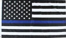 Thin Blue Line Police Grommet Flag Emergency Services 3' x 5' Briarwood Lane