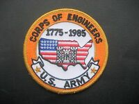 """UNITED STATES ARMY EMBROIDERED SEW ON PATCH CORPS OF ENGINEERS HAT SHIRT 3"""""""