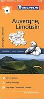 Michelin Regional Maps: France: Auvergne, Limousin Map 522 (Michelin Regional Fr