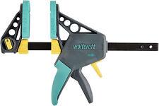 Wolfcraft Einhandzwinge PRO 100 - 150 mm Spannkraft 120 kg Spannweite 150 mm