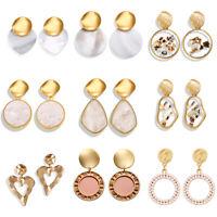 Fashion Summer Shell Cowrie Bohemia Dangle Earrings For Women Beach Drop Earring