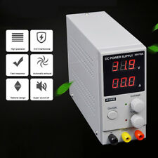 30V 10A 220V Digital Switching DC Power Supply Adjustable Variable Bench Test DC