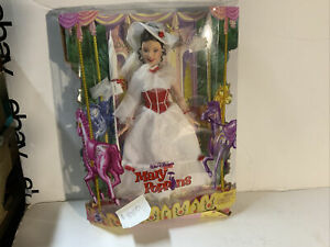 Mattel Walt Disney's Mary Poppins Barbie Doll J1900 Sealed Box RARE VERSION