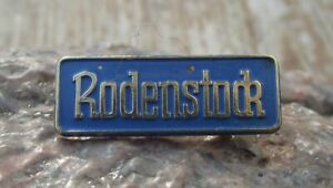 Vintage Rodenstock German Optical Company Glasses Spectacles Germany Pin Badge