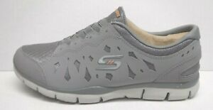 Skechers Flex Size 7.5 Gray Sneakers New Womens Shoes