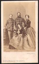 Famille Imperiale de Russie. Photographe Levitsky. CDV 1866. Alexandre II