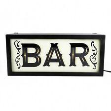 Temerity Jones Bar Light Box BNIB Designer Home Wares Gifts Lighting Retro Decor