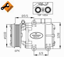 Kompressor Klimaanlage - NRF 32248