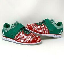 adidas POWERLIFT 1.3 UGLY CHRISTMAS XMAS Weightlifting Bodybuilding Gym 10.5