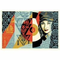 IN HAND * Obey Giant Shepard Fairey Raise the Level Signed Print Edition of 550