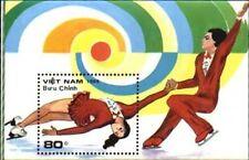 N.Vietnam MNH Sc 1986 S/S Mi Bk 70 Value US $ 4.25 Figure Skating