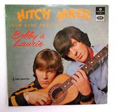 BOBBY AND LAURIE - HITCH HIKER - AUSSIE 1966 MONO LP - GARAGE