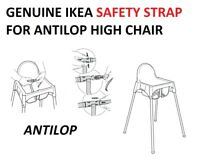 GENUINE ANTILOP IKEA HIGH CHAIR REPLACEMENT STRAP for ANTILOP chair 1st class