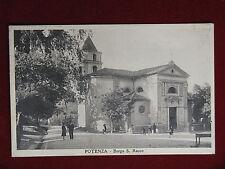 POTENZA Borgo San Rocco animata viaggiata 1934 f/p #415