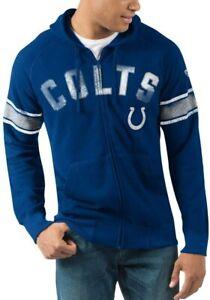 G-III Sports Indianapolis Colts Men's Hands High Arena Full Zip Hoody Sweatshirt