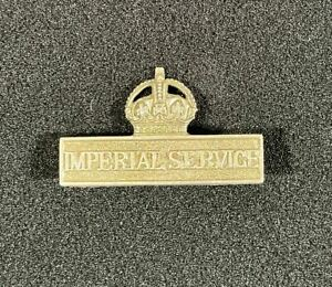 WW1 British Territorial Force Imperial Service Badge
