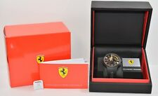 Scuderia Ferrari Chronograph Ronda 5030 D Black and Yellow Men's Wristwatch