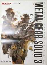 METAL GEAR SOLID 3 Poster 02 Promo