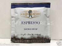 Miscela D'Oro Espresso Double Decaf - 100 Espresso Pods/ 6 FREE Double Esp cups