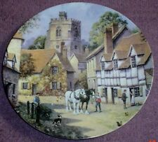 Wedgwood Collectors Plate BRAY From THE CHARM OF AN ENGLISH VILLAGE