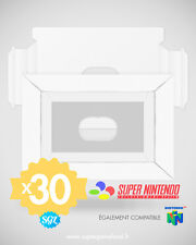 LOT DE 30 CALES NEUVES POUR BOITES SUPER NINTENDO SNES