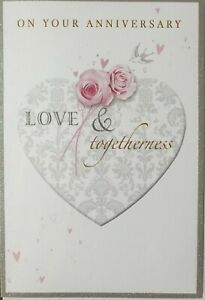 ON YOUR ANNIVERSARY LOVE AND TOGETHERNESS - ANNIVERSARY CARD