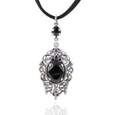 Ovale Beauty Modeschmuck-Halsketten & -Anhänger aus Sterlingsilber