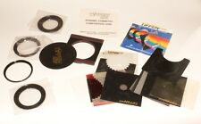 tiffen mcs magnetic filter holder with bag and various filters and masks