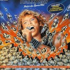 """CD """"Johnny Hallyday""""Palacio deportes 1982"""" NUEVO EN BLÍSTER"""