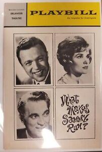1964 Playbill What Makes Sammy Run? Erlanger Theatre Philadelphia