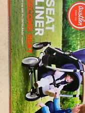 Brand New Austlen Entourage Stroller Second Seat Liner, Black And White