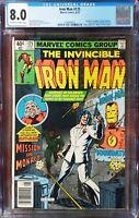 Iron Man 125 CGC 8.0 Ant-Man Marvel 1979