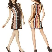 MISSONI for Target Chevron Zig Zag Knit Shift Dress M NWOT