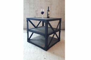 Tisch Industriedesign Design Möbel Vintage Antik-Stil Retro Massiv Neu