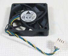 1x Delta AFB0612VHC 60x60x15mm 6015 12V 0.36A DC CPU Cooling Fan 4pin Connectors