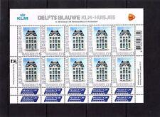 Nederland NVPH 2899 Vel Persoonlijke zegels KLM Huisjes 2012 Postfris